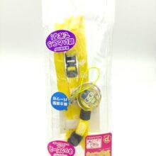 Tamagotchi Leash gear Yellow lanyard Mametchi charm Bandai
