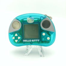 Sanrio HELLO KITTY FITTY Fit Fat Handheld Game TOMY1999 Japan Clear blue