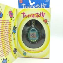 Tamagotchi Original P1/P2 Clear blue Bandai 1997 English