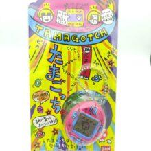 Tamagotchi Original P1/P2 Red w/ Blue Clock Bandai 1997