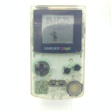 Console Nintendo Gameboy Color GBC Clear white JAPAN