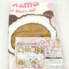 San-X Rilakkuma Happy life with Rilakkuma! Kuji Travel Blanket 60x80cm