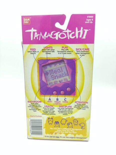 Tamagotchi Original P1/P2 Green w/ blue Bandai 1997 English
