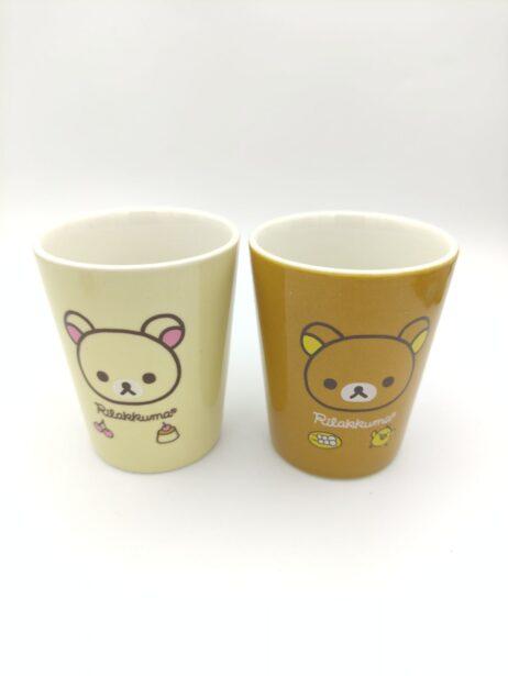 Rilakkuma 2 Cup love San-X Kawaii 8cm* 6,5cm Japan 3