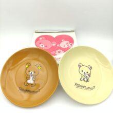 Rilakkuma 2 Plates San-X Kawaii 15cm Japan