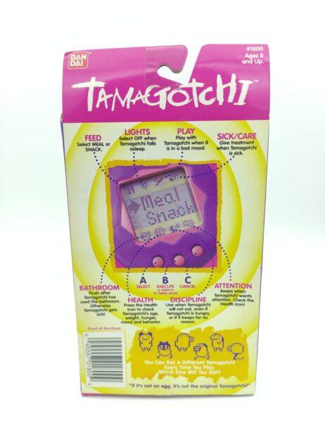 Tamagotchi Original P1/P2 Yellow w/ orange Bandai 1997 English 2