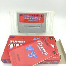 Super Famicom SFC SNES Tetris 2 Japan shvc-t2