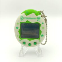 Tamagotchi Osutchi Mesutchi White w/ green Bandai japan
