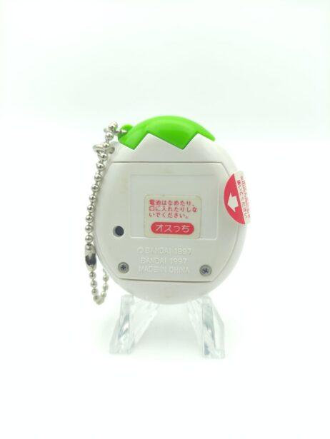 Tamagotchi Osutchi Mesutchi White w/ green Bandai japan 2