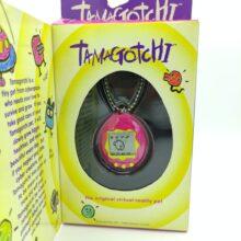 Tamagotchi Original P1/P2 Purple w/ yellow Original Bandai 1997
